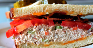 Homemade Tuna Sandwich