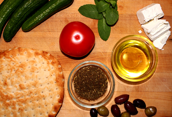 ingredients-for-zaatar-bread