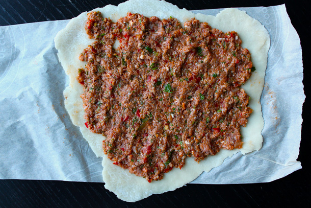 Making Lahmacun