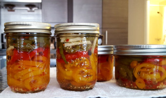 Pickled Hot Pepper Recipe