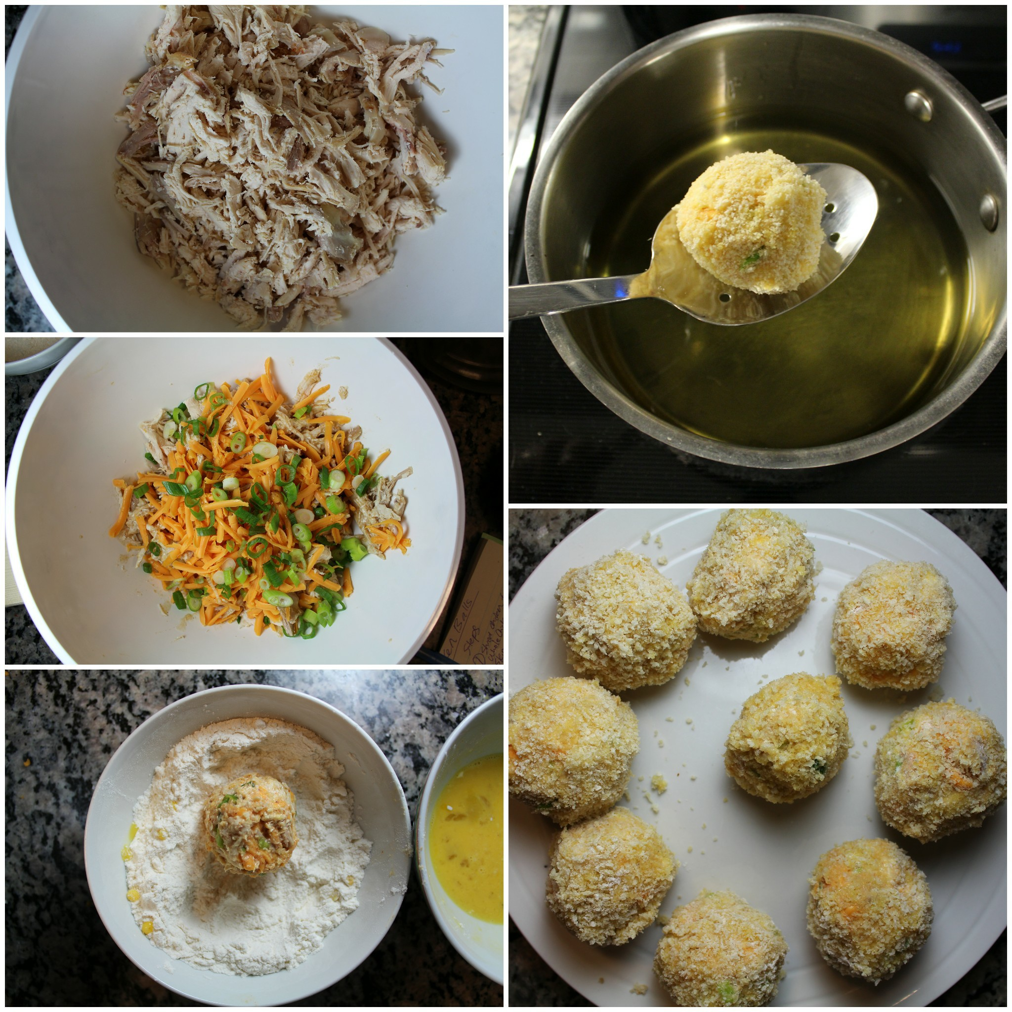 how to make chicken balls
