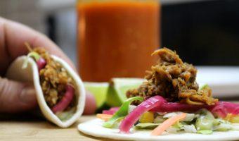 Pressure Cooker Pork Tacos