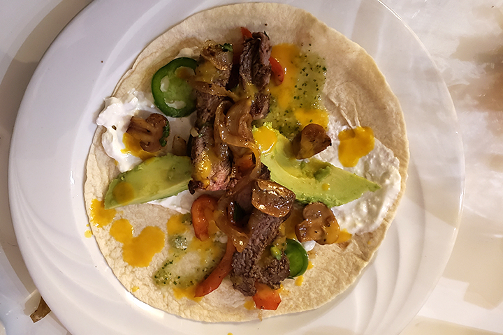 Chicken and Steak Fajita